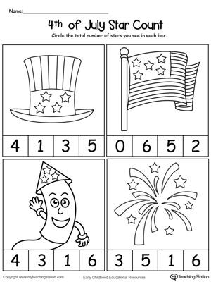 Preschool Printable Worksheets | MyTeachingStation.com