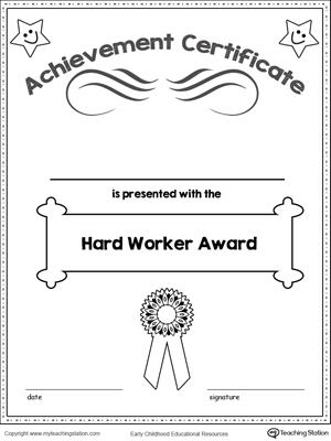 coloring pages of achievement - photo#36