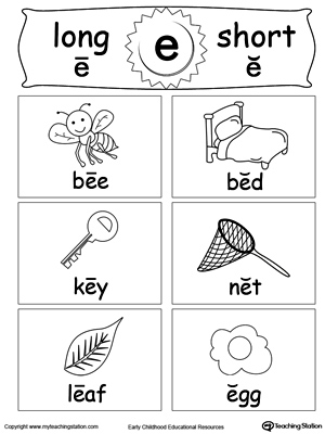 Short And Long Vowel Pairs Flashcards Dim Fad Fat And Fin