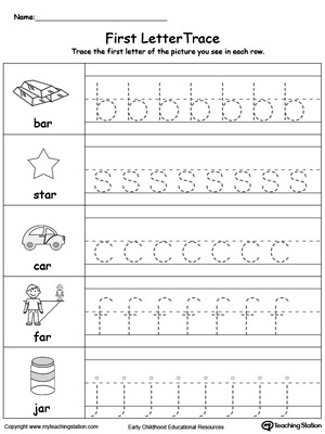 Preschool Printable Worksheets | MyTeachingStation.com
