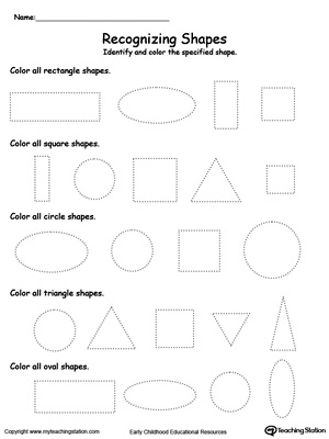 Recognizing Shapes