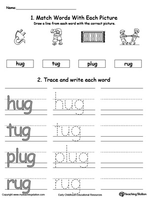 Practice Writing Words For Kindergarten Yolarnetonic