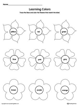 tracing papers for kindergarten