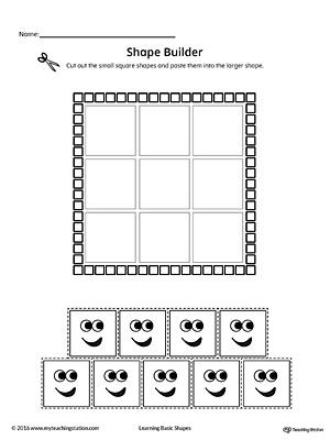 geometric shape builder worksheet diamond. Black Bedroom Furniture Sets. Home Design Ideas