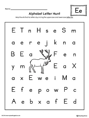 say and trace short letter e beginning sound words worksheet. Black Bedroom Furniture Sets. Home Design Ideas