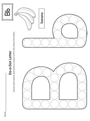 Alphabet Letter Hunt: Letter B Worksheet | MyTeachingStation.com