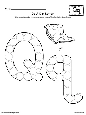 letter q formation writing mat printable. Black Bedroom Furniture Sets. Home Design Ideas