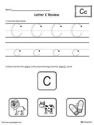 all about letter c printable worksheet. Black Bedroom Furniture Sets. Home Design Ideas