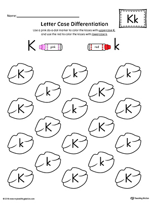 Kindergarten Printable Worksheets