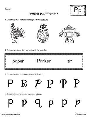 Early Childhood Writing Worksheets | MyTeachingStation.com