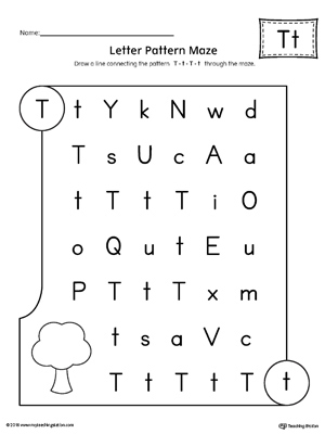 Letter T Worksheets Preschool Ibovnathandedecker
