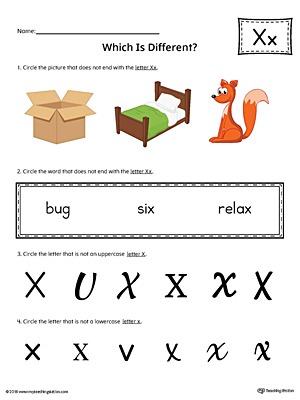 Preschool Reading Printable Worksheets | MyTeachingStation.com