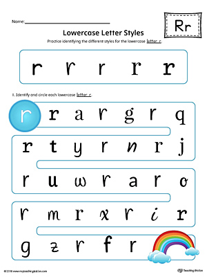 Learning The Letter R Worksheet Color Myteachingstation Com
