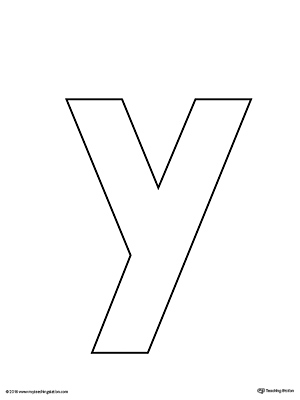 Epic image with letter y printable
