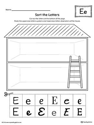 alphabet letter hunt letter e worksheet. Black Bedroom Furniture Sets. Home Design Ideas