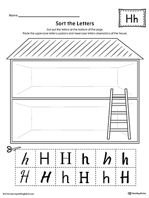 Free Tracing Letter H Worksheet