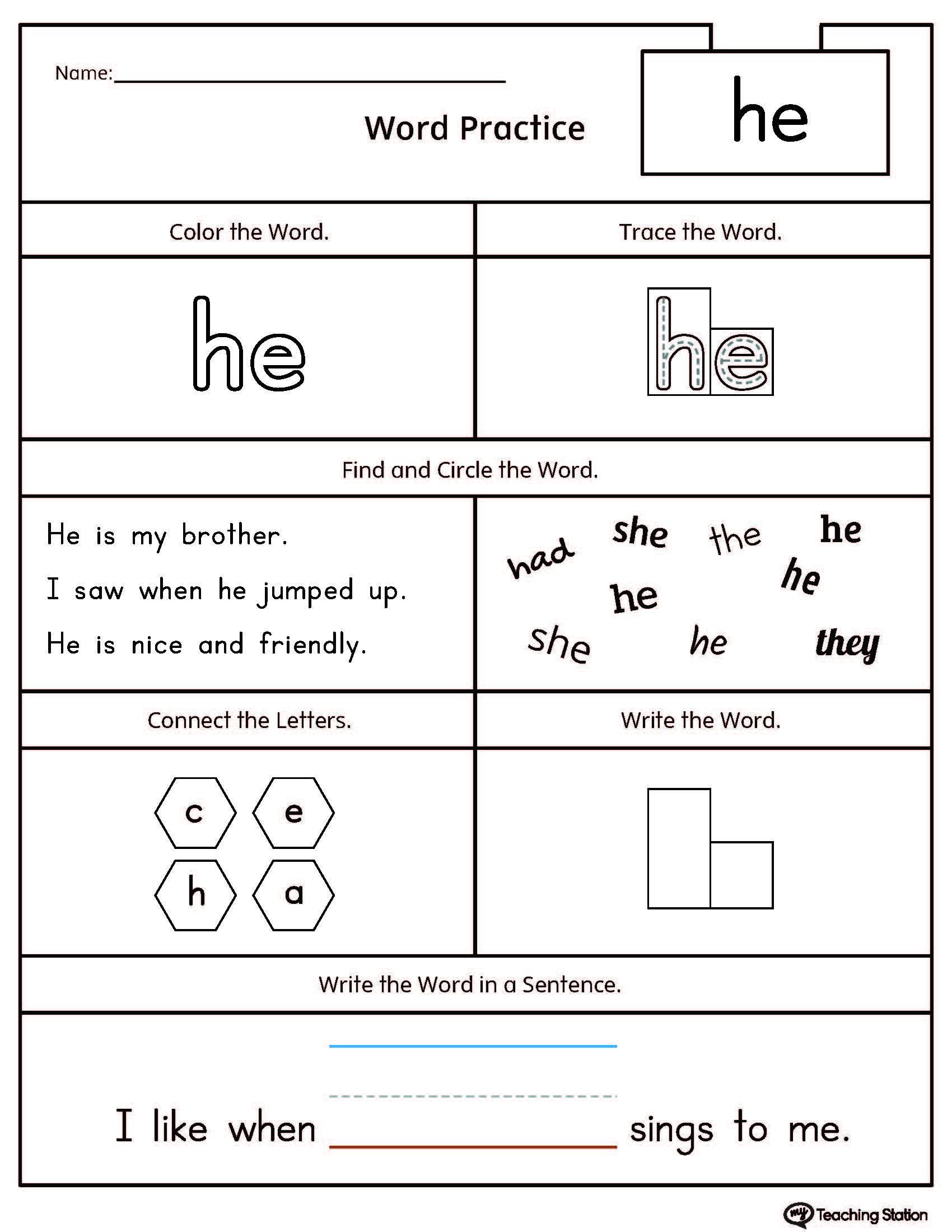 Early Childhood Shapes Worksheets | Kindergarten math, Math and ...
