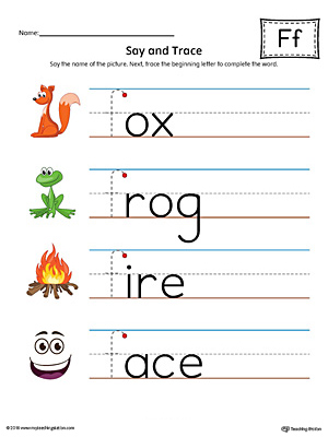 how to write a lowercase f