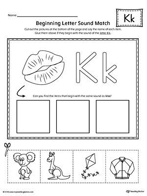 Early Childhood Alphabet Worksheets Myteachingstation