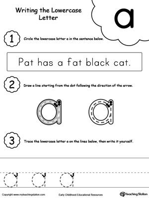 Preschool Letters Printable Worksheets Myteachingstation