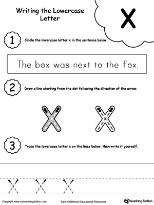 Preschool and Kindergarten Worksheets | MyTeachingStation.com