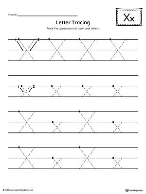 letter case recognition worksheet letter x. Black Bedroom Furniture Sets. Home Design Ideas