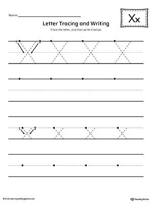 letter x formation writing mat printable. Black Bedroom Furniture Sets. Home Design Ideas